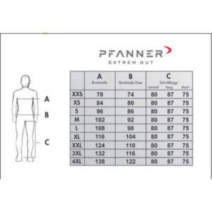 Pfanner Stretch-Air Schnittschutzjacke rot-gelb