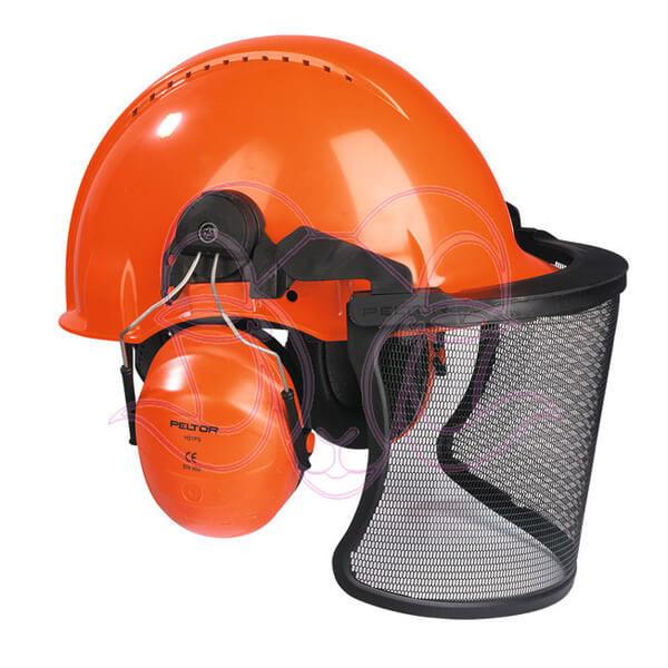 Peltor-Kopfschutzkombination