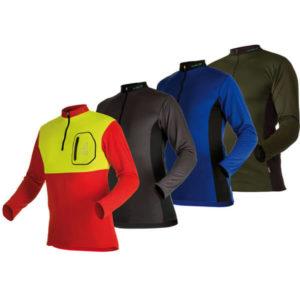 Pfanner Zipp-Neck Shirt langarm