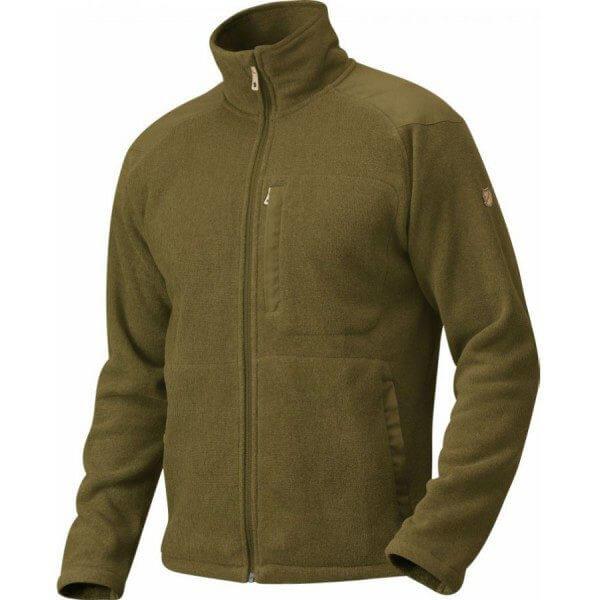 Fjällräven Buck Fleece Jacket, dark olive