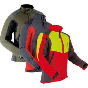 Pfanner Ventilation Jacket rot, grün, grau