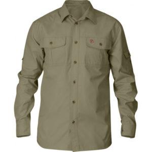 Fjällräven Sarek Trekking Shirt Light Khaki
